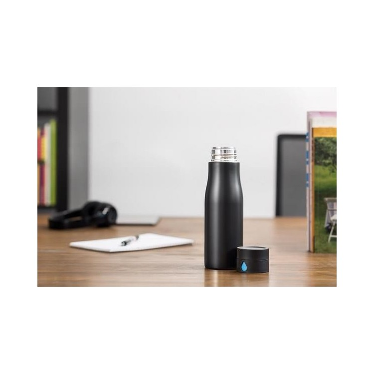 Bouteille de suivi d'hydratation Aqua à prix de gros - Bouteille à prix grossiste