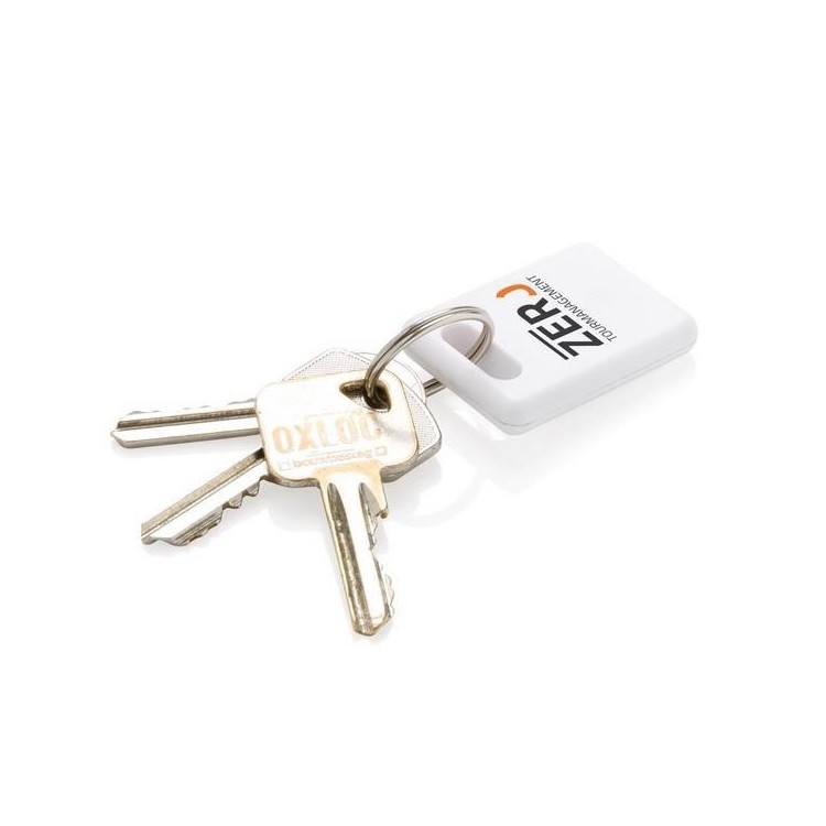 Retrouve-clés carré 2.0 - Porte-clés 2 usages à prix de gros