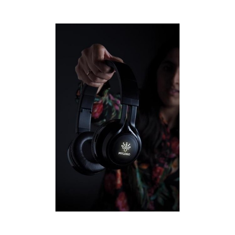 Casque audio sans fil lumineux - Bluetooth à prix grossiste