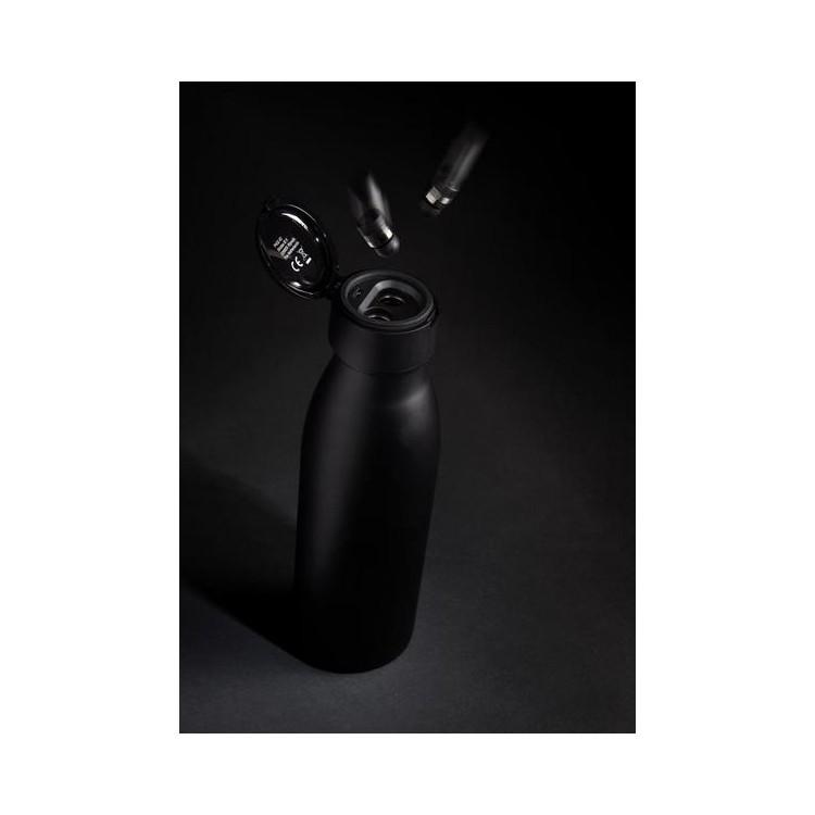 Bouteille isotherme étanche avec mini-écouteurs sans fil à prix grossiste - Bluetooth à prix de gros