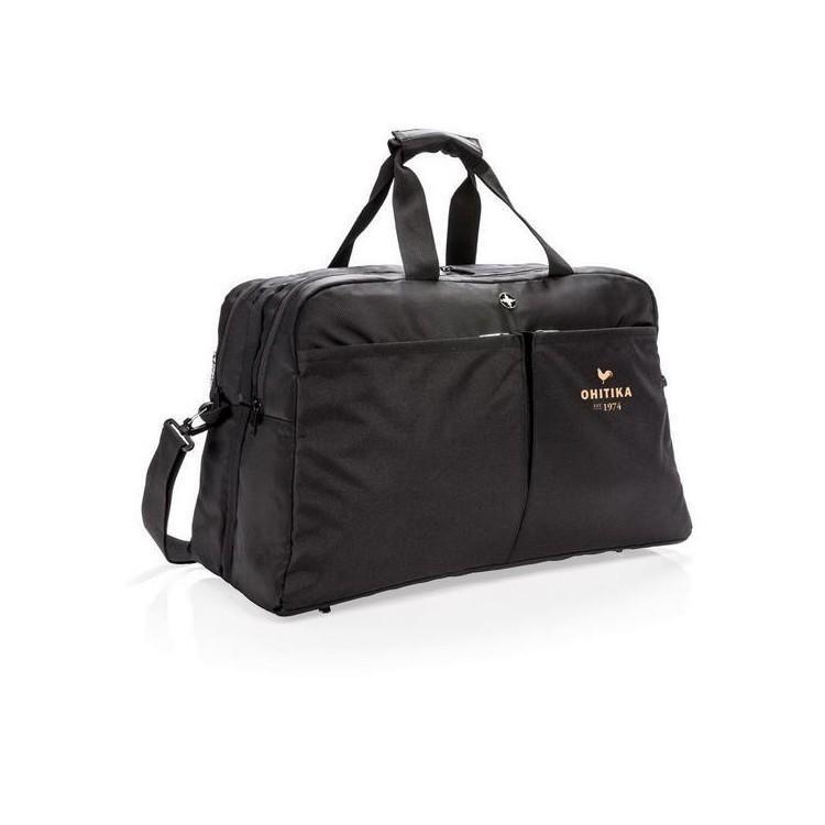 Sac de sport avec ouverture type valise Swiss Peak anti RFID - Sacoche PC à prix de gros