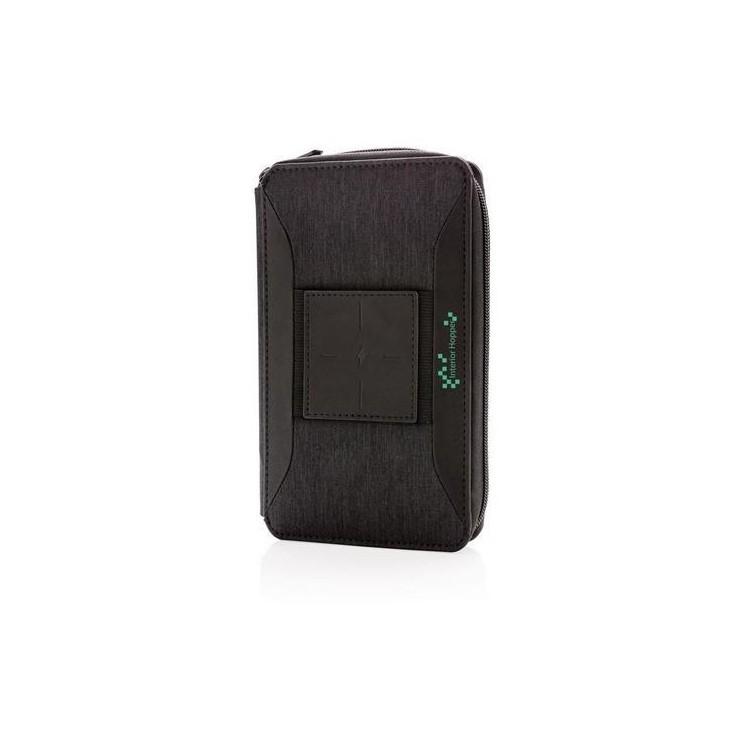 Portefeuille avec chargeur à induction Swiss Peak - Accessoires de téléphone à prix de gros