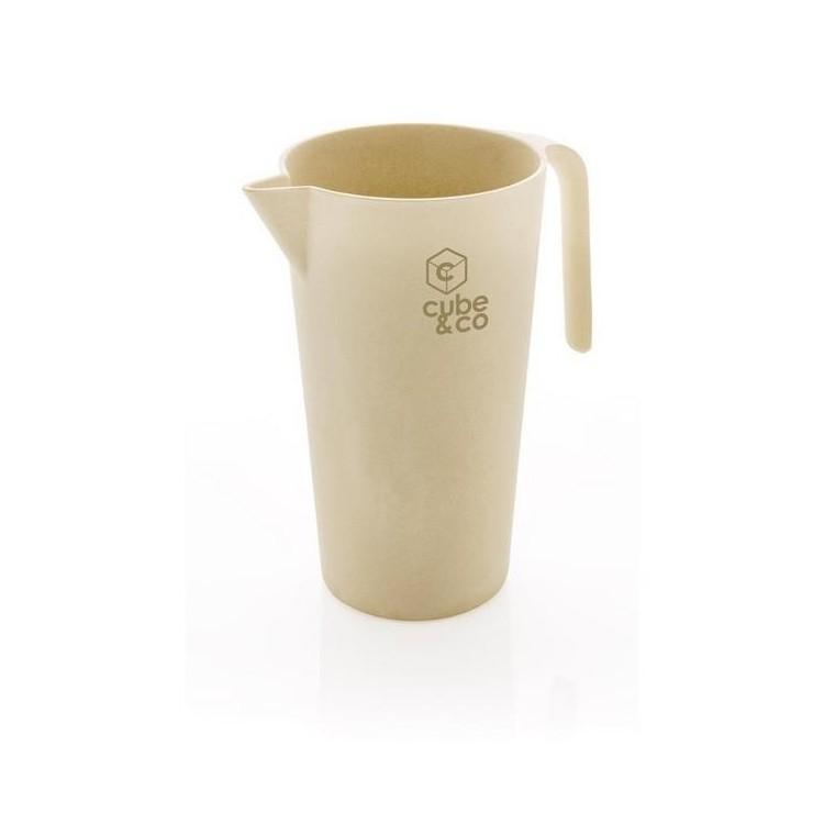 Carafe 1.7L en Bambou - Service à boissons à prix grossiste