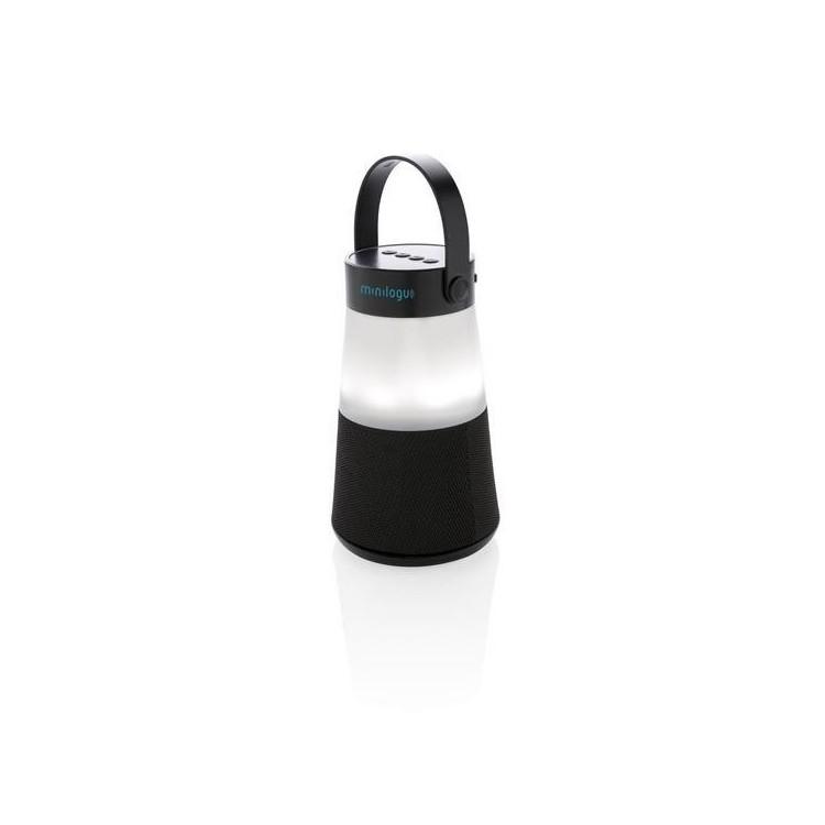 Enceinte avec lumière d'ambiance - Lampe de camping à prix de gros
