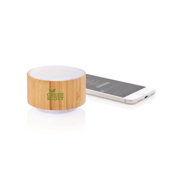 Enceinte en bambou à prix grossiste - Produit en bois à prix de gros