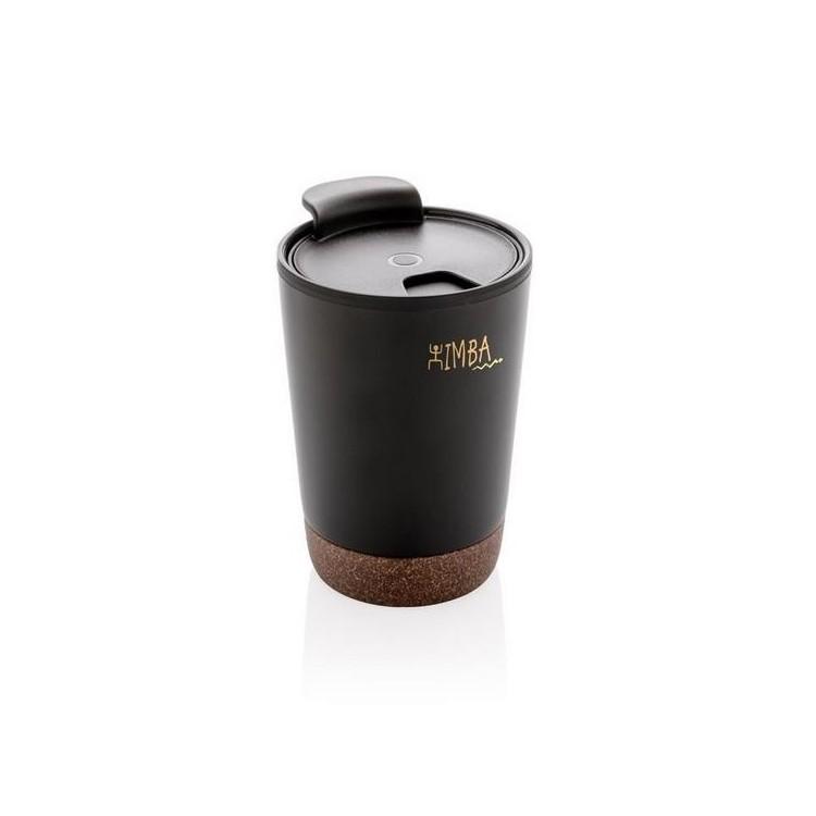 Mug avec finition liège - Mug isotherme à prix de gros