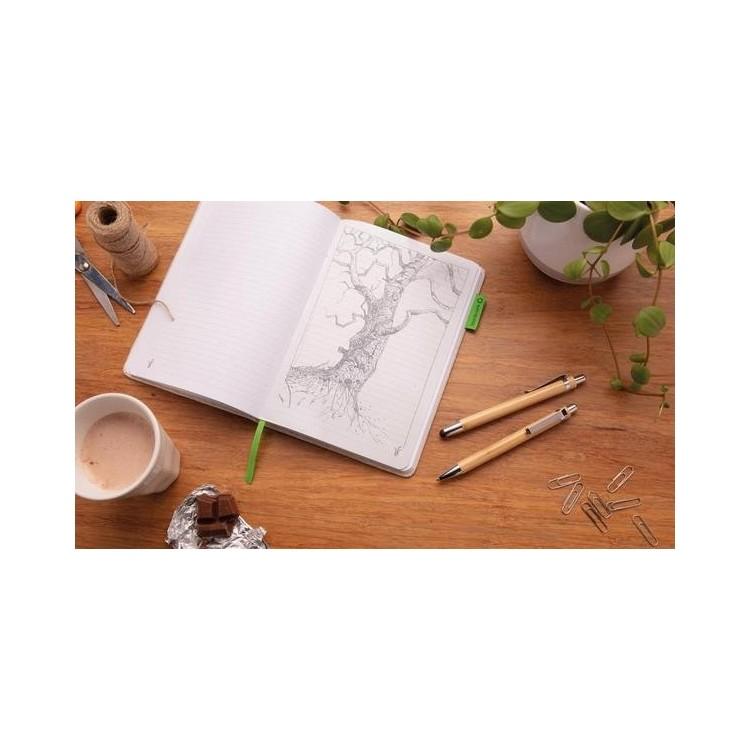 Set stylo en bambou à prix de gros - Parure de stylos à prix grossiste