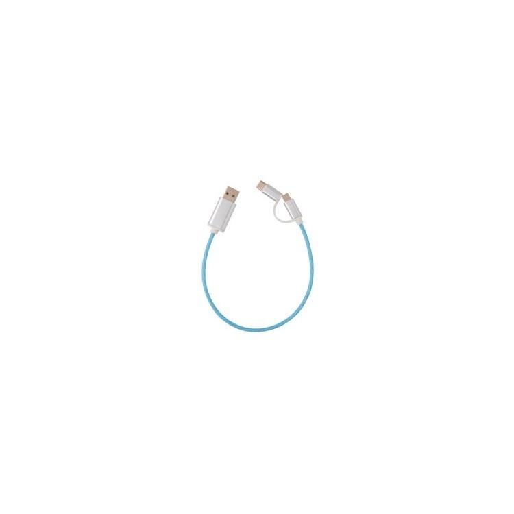 Câble lumineux 3 en 1 - Accessoire pour tablettes à prix de gros