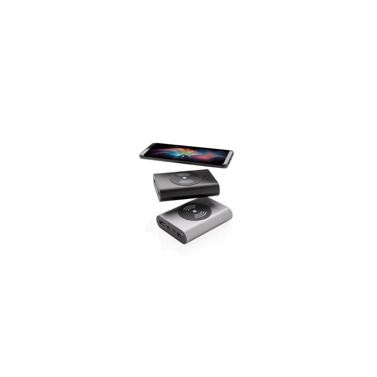 Batterie de secours aluminium de poche 5000 mAh et induction à prix grossiste - Chargeur à induction à prix de gros