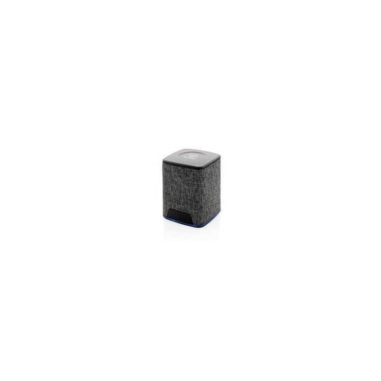 Enceinte lumineuse 3W en tissu - Bluetooth à prix de gros