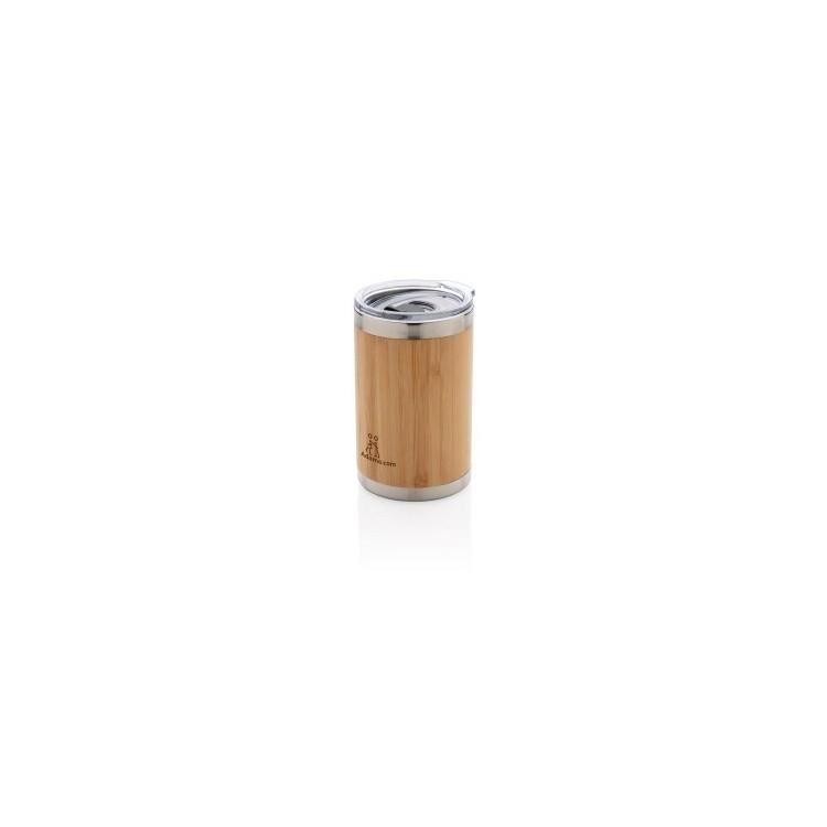 Tasse coffee to go en bambou à prix de gros - mug en bois à prix grossiste