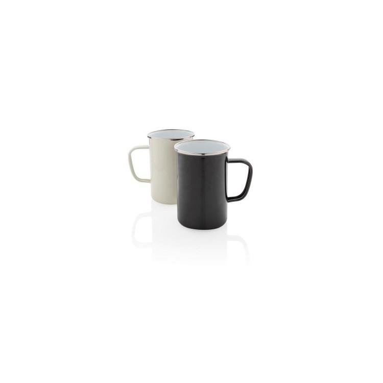 Tasse en émail XL - mug émaillé à prix de gros