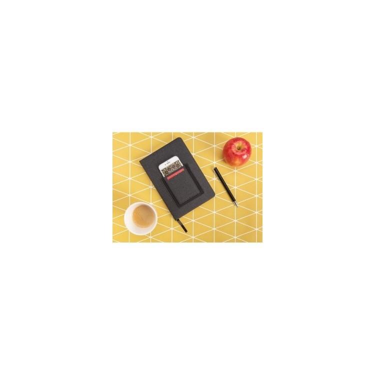 Carnet de notes A5 avec pochette téléphone - Parure d'accessoires à prix grossiste