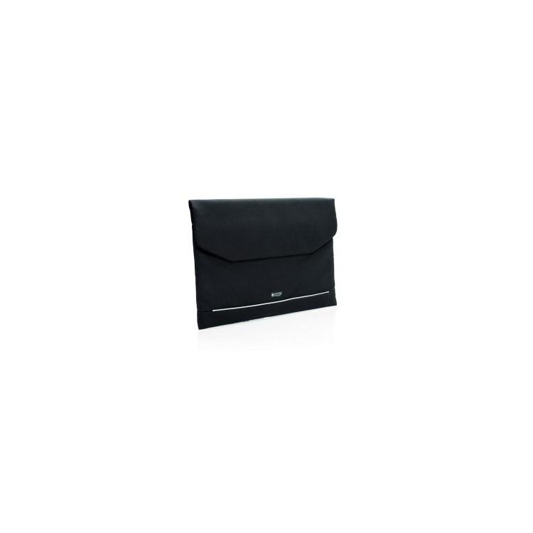 Pochette ordinateur 15.6 avec poche anti RFID Swiss Peak - Sacoche PC à prix de gros