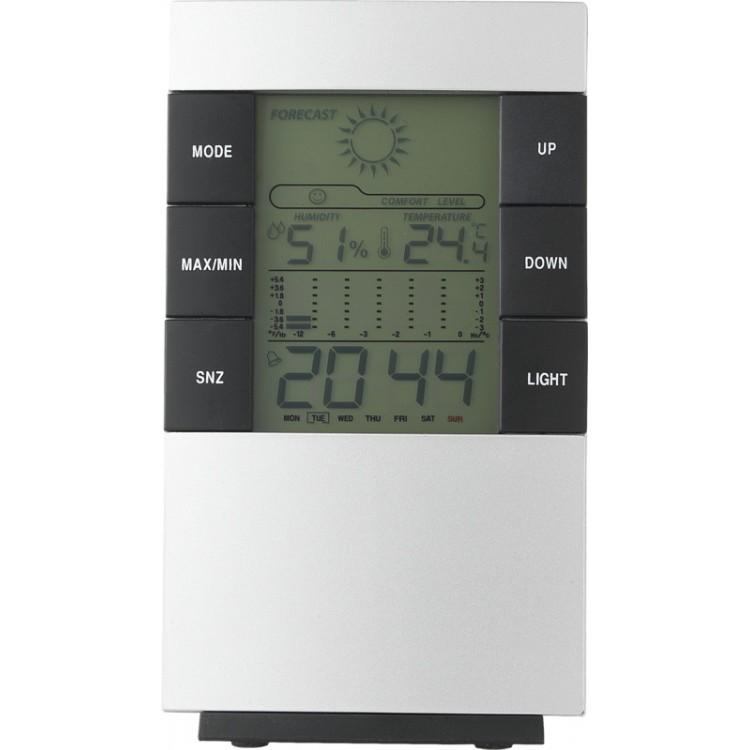 Station météo multifonctions avec alarme Como - Thermomètre électronique à prix de gros