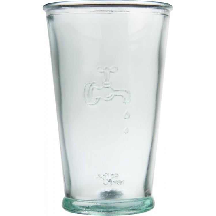 Ensemble Ford de trois verres à eau en verre recyclé à prix grossiste - Accessoire pour boire à prix de gros