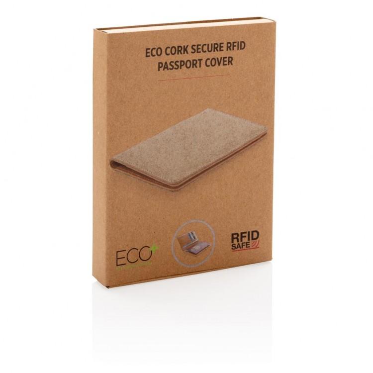 Etui passeport anti RFID en liège à prix grossiste - Porte-cartes de crédit à prix de gros