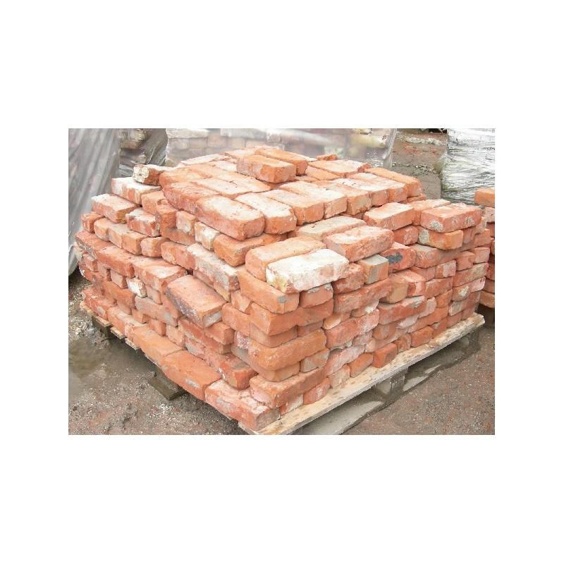 Briques anciennes ocre / orangées - Brique ancienne à prix de gros