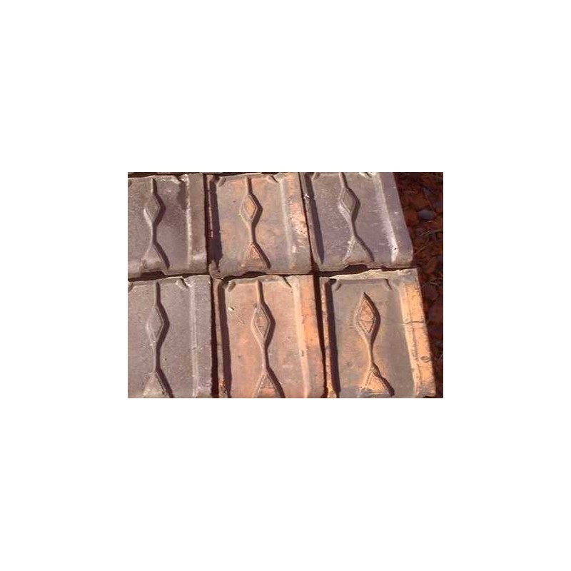Tuiles anciennes rustiques à prix de gros - Materiaux anciens à prix grossiste