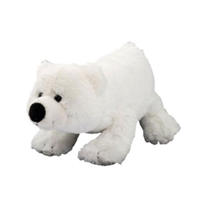 Peluche ours polaire 30 cm à prix grossiste - Jeu et jouet à prix de gros