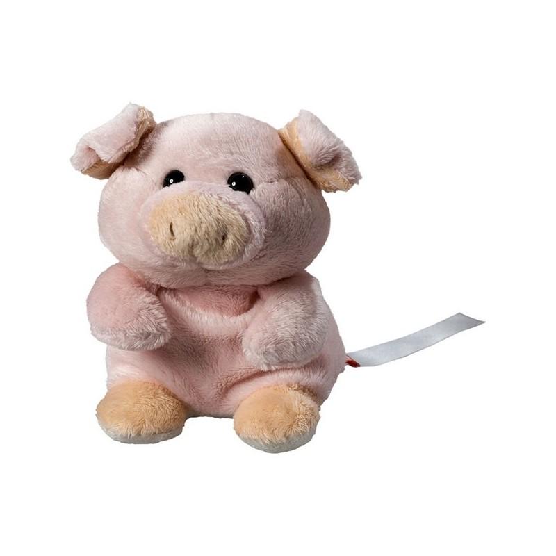 Peluche cochon rose - 12 cm - Jeu et jouet à prix de gros
